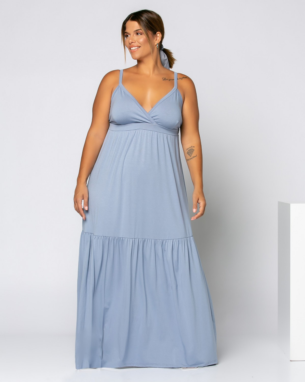 Jamaica Dress Σιέλ