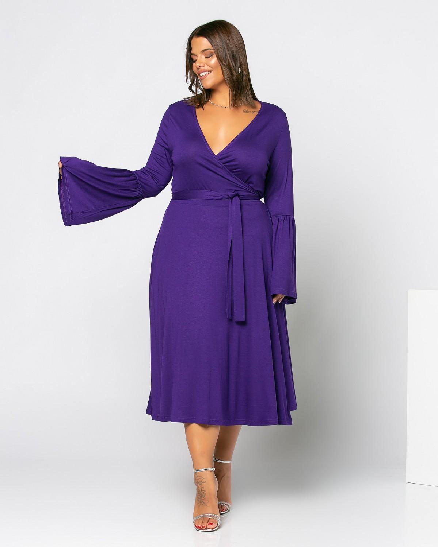 Φόρεμα London Μωβ
