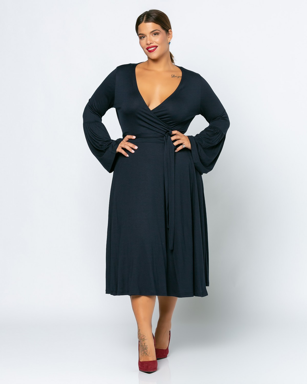 Φόρεμα London Μπλε Σκούρο