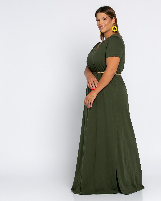 Brazil Dress Λαδί