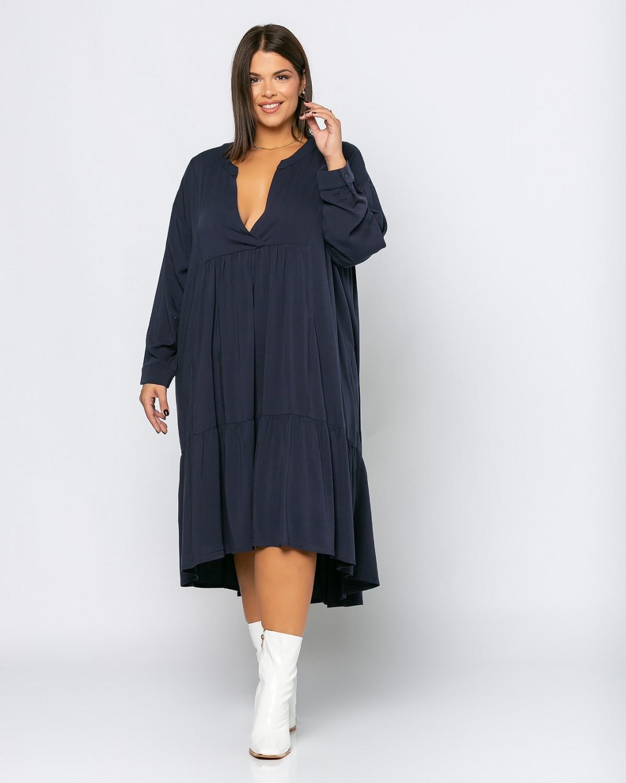 Spain Dress Μπλε Σκούρο