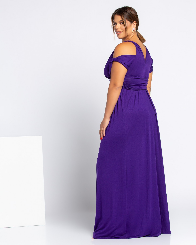 Toledo Dress Μωβ