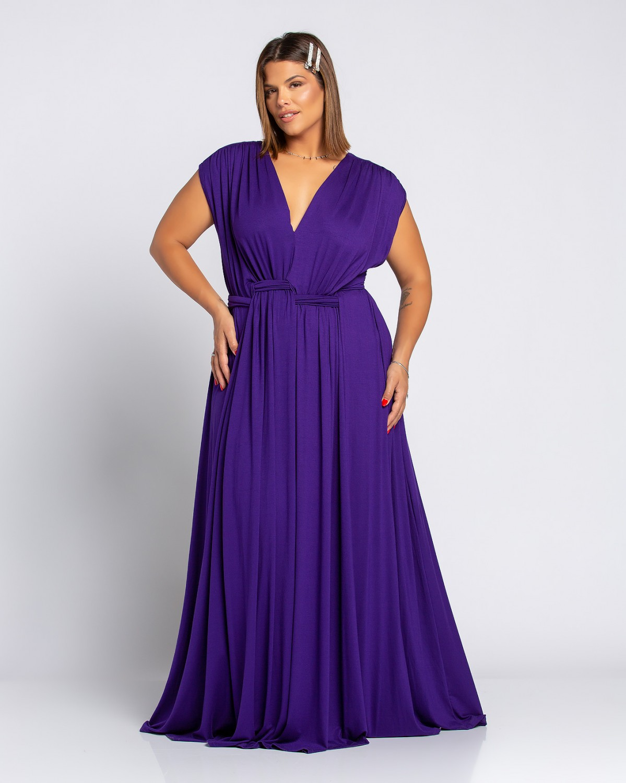 Miami Dress Μωβ