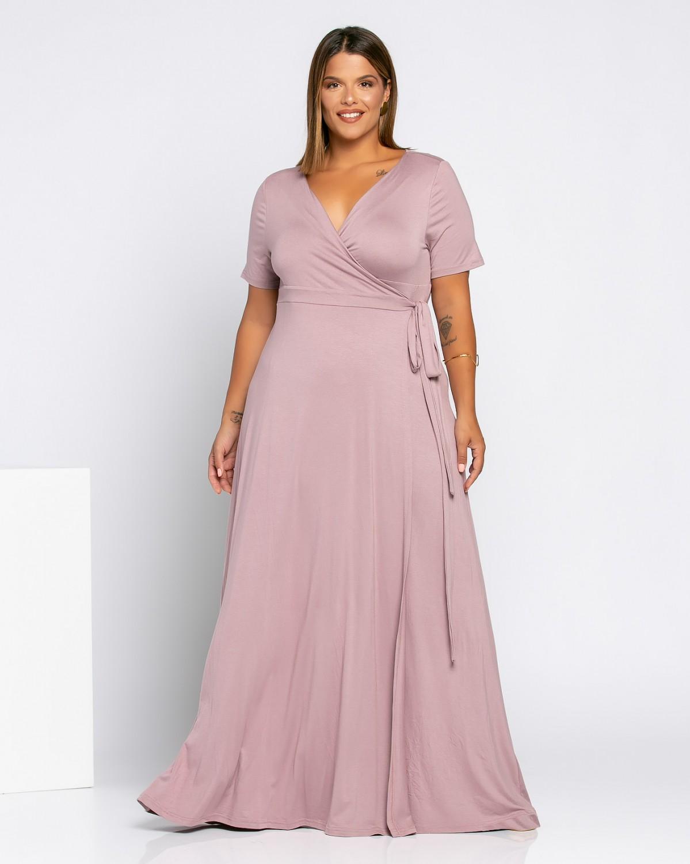 Salvadore Dress Dusty Pink