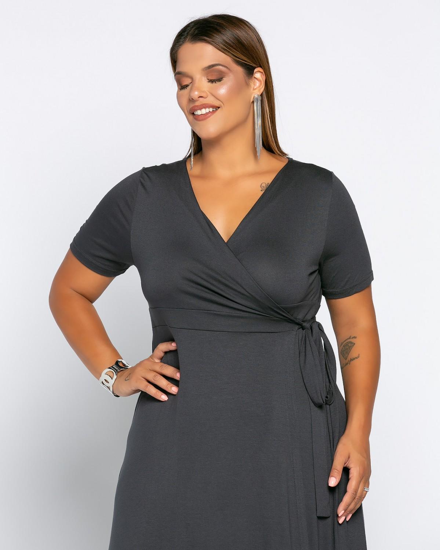 Salvadore Dress Ανθρακί
