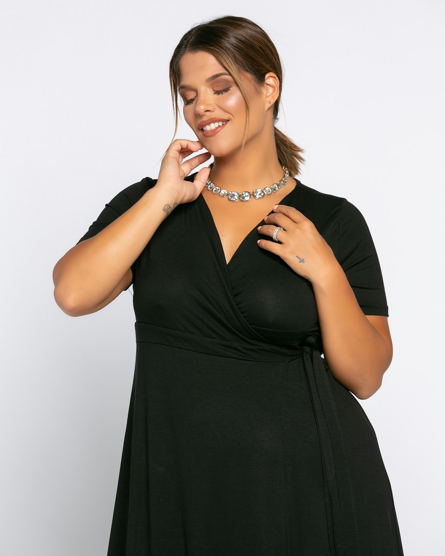 Salvadore Dress Μαύρο
