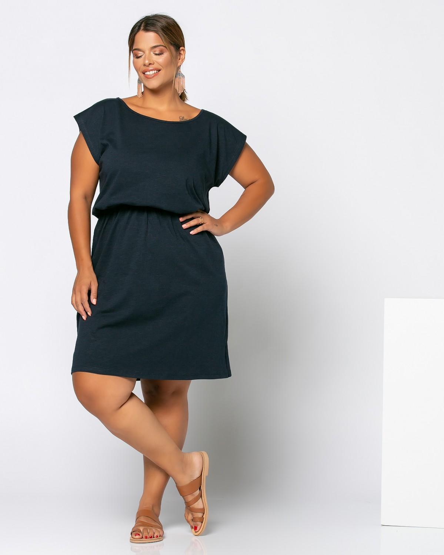 Mexico Dress Μπλε Σκούρο