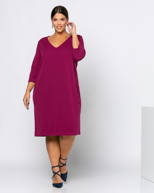 Cleveland Dress Rasberry Pink