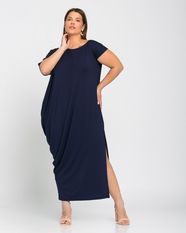 Lyon Dress Μπλε Νύχτας