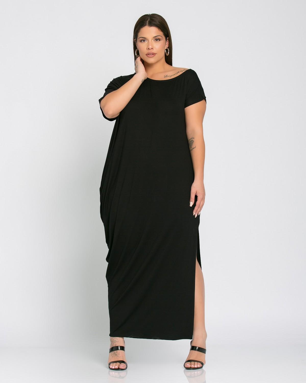Lyon Dress Μαύρο