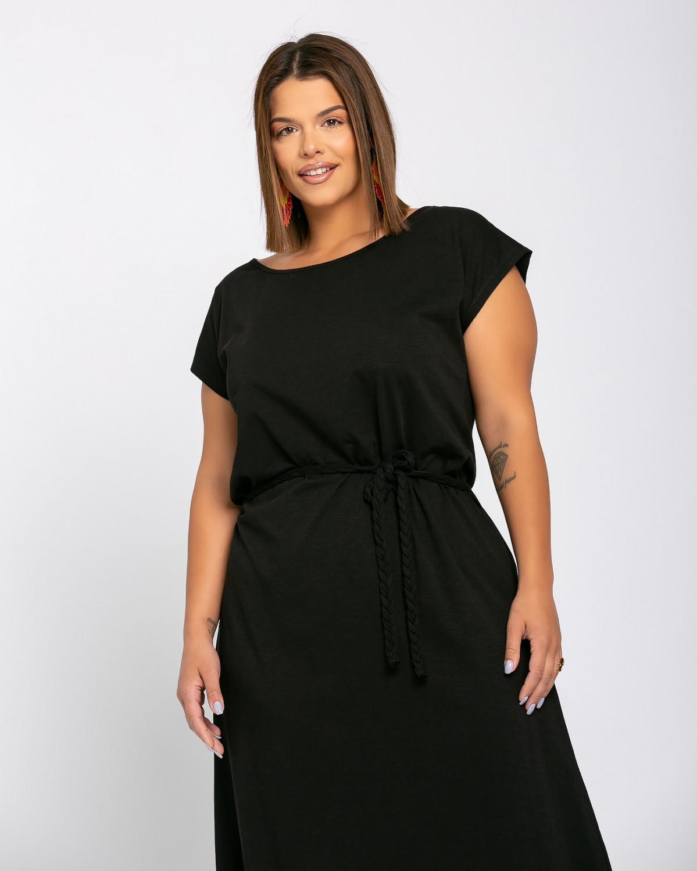Roma Dress Μαύρο