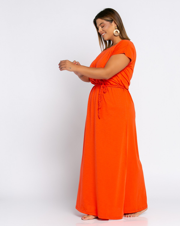 Roma Dress Πορτοκαλί