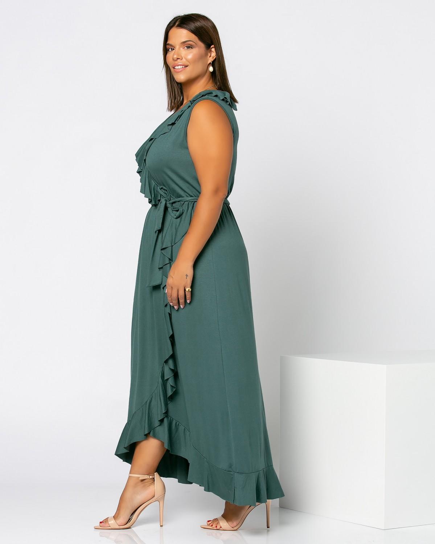 Toulouze Dress Κυπαρισσί