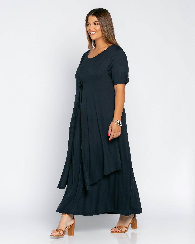 Morocco Dress Μπλε Σκούρο