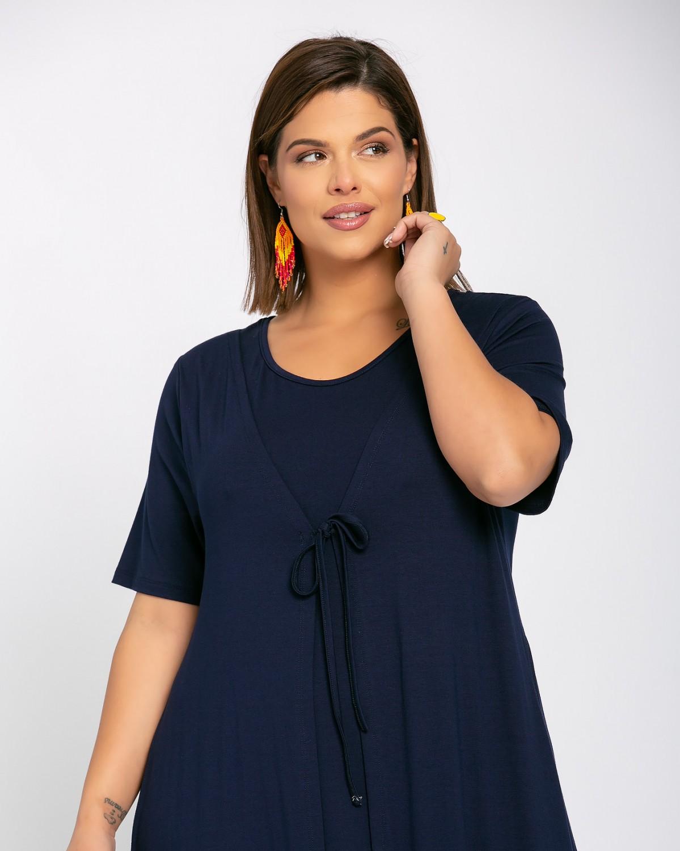Morocco Dress Μπλε Νύχτας