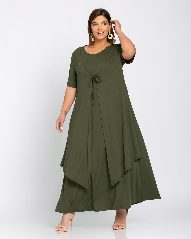 Morocco Dress Λαδί