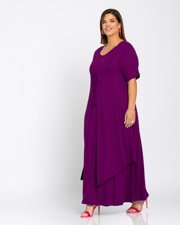 Morocco Dress Βιολετί