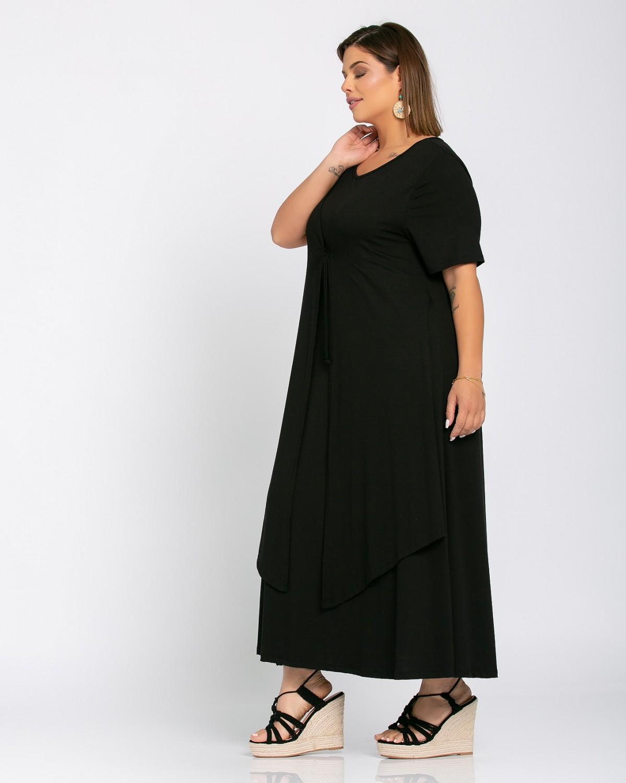 Morocco Dress Μαύρο
