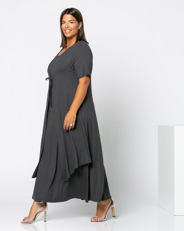 Morocco Dress Ανθρακί
