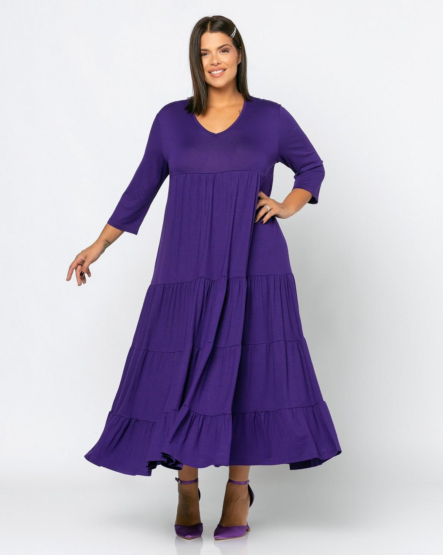 Ibiza Dress Μωβ