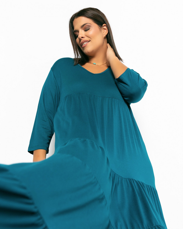 Ibiza Dress Πετρόλ
