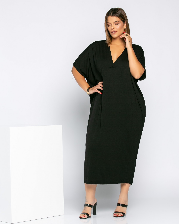 Dallas Dress Μαύρο