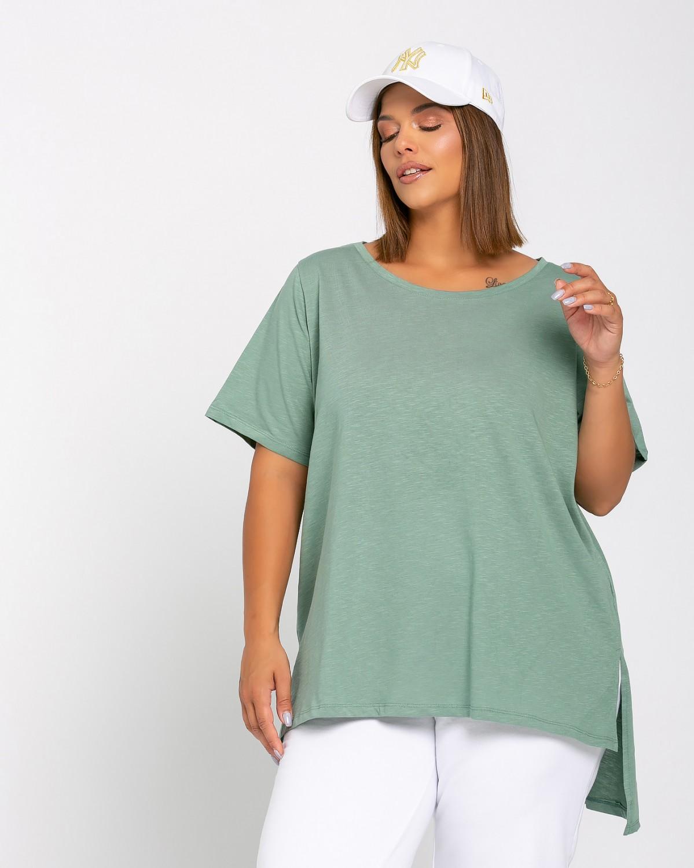 Basic Τ-Shirt Green Olive