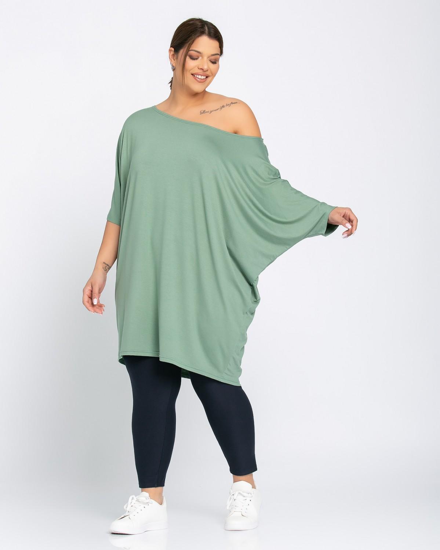 Μπλουζοφόρεμα Green Olive