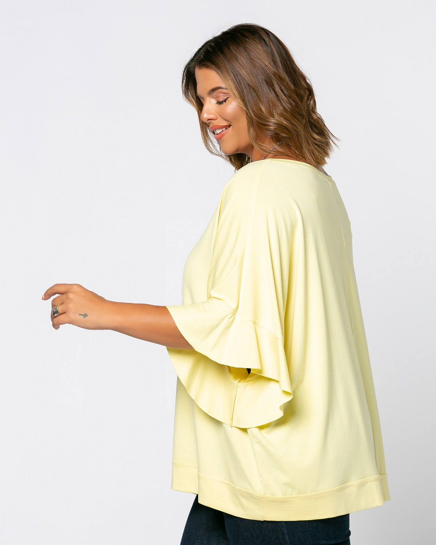Zoe T-Shirt Λεμονί