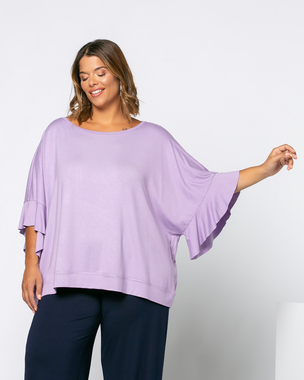 Zoe T-Shirt Λιλά