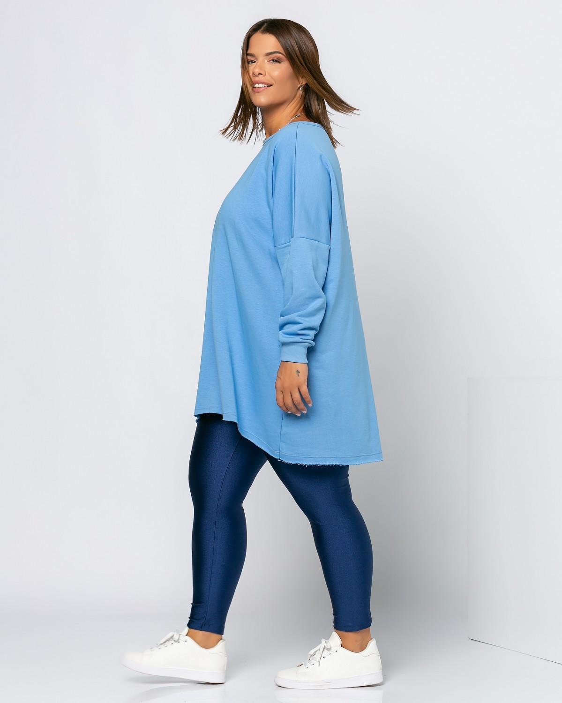 Μπλούζα Φούτερ Sky Blue