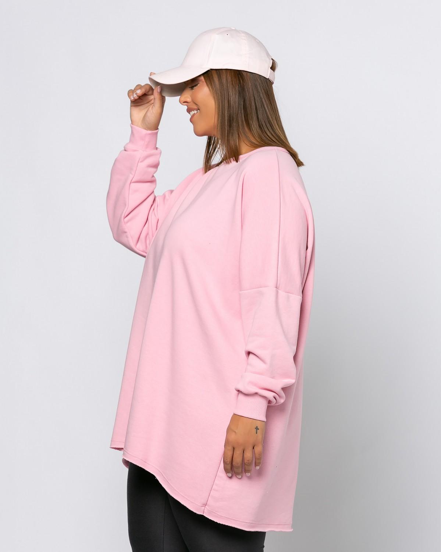 Μπλούζα Φούτερ Bubblegum Pink