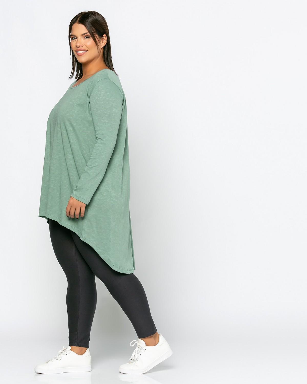 Μπλούζα Με Ραφή Green Olive