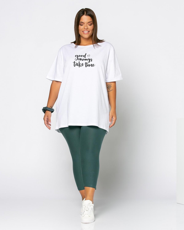 Τ-Shirt Good Things Λευκό