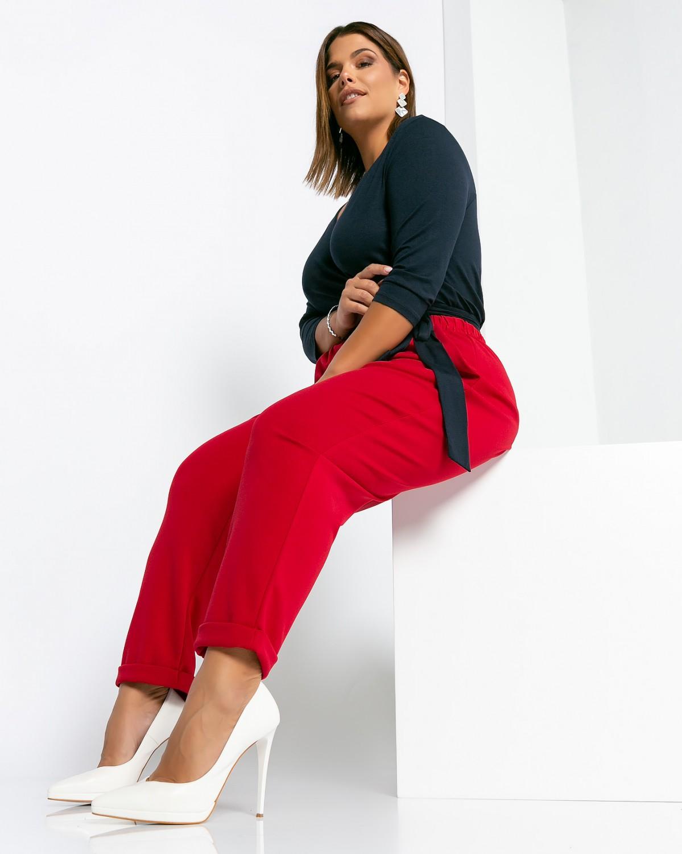 Παντελόνι Κρεπ Κόκκινο