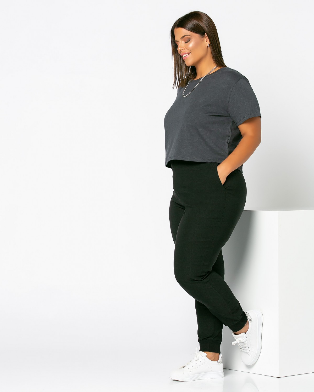 Παντελόνι με ριπ τελείωμα