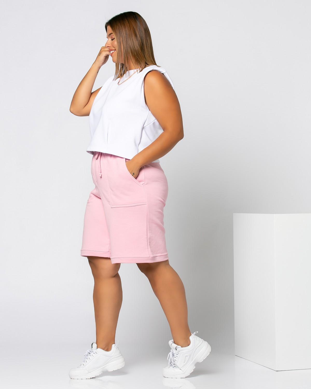 Shorts Ροζ Ανοιχτό