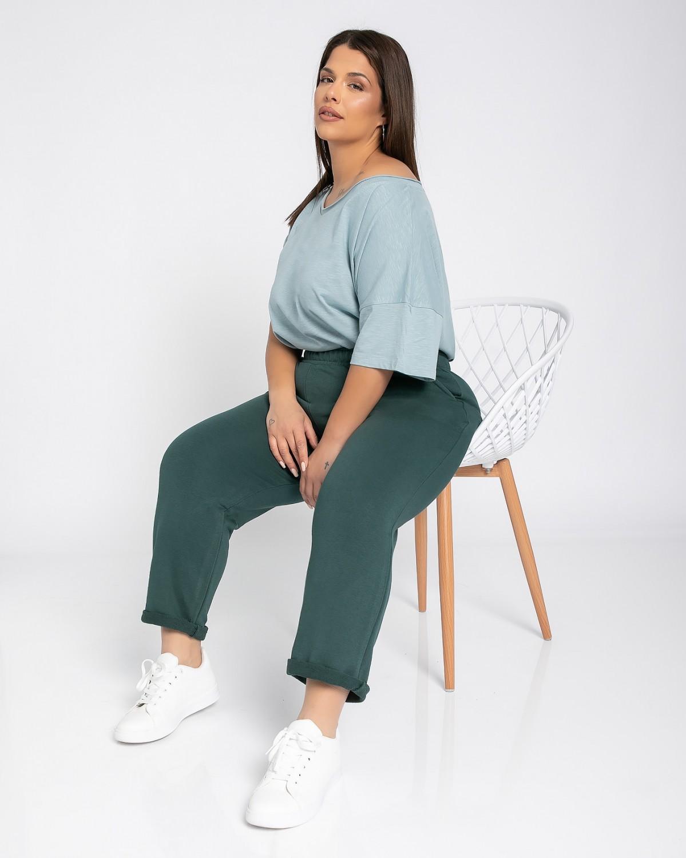 Παντελόνι φόρμας ίσιο κυπαρισσί