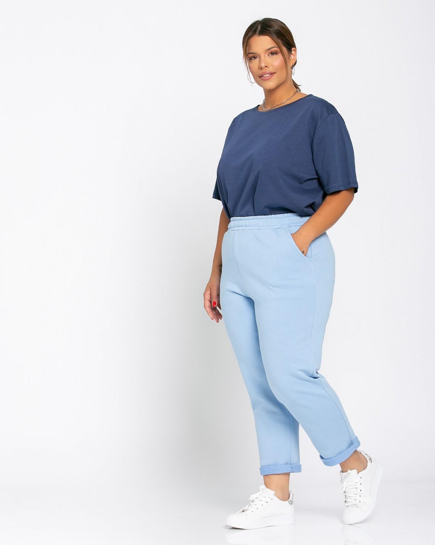 Παντελόνι φόρμας ίσιο γαλάζιο