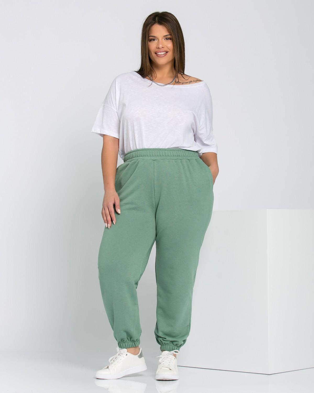 Παντελόνι φόρμας με λάστιχο πράσινο