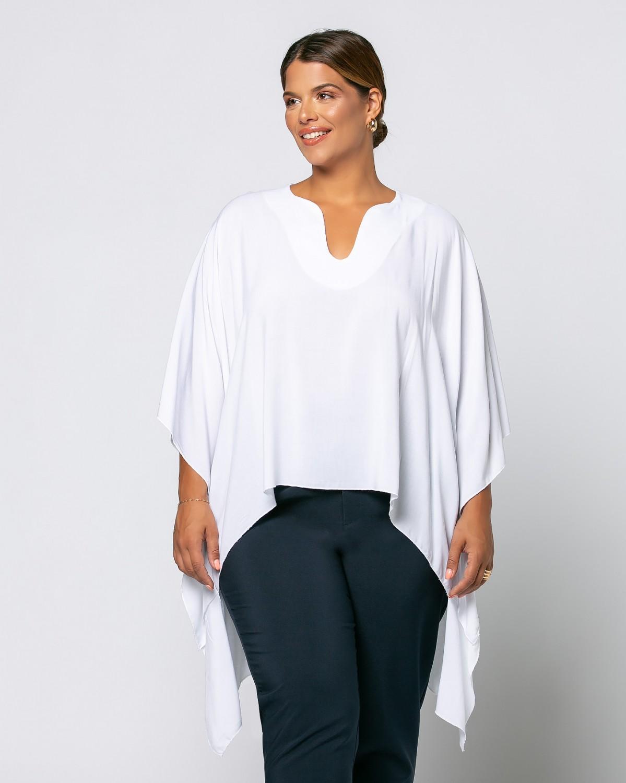 Μπλούζα-Πουκάμισο Λευκό