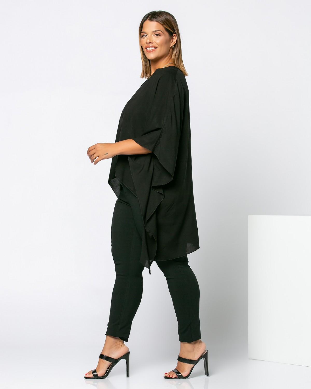 Μπλούζα-Πουκάμισο Μαύρο